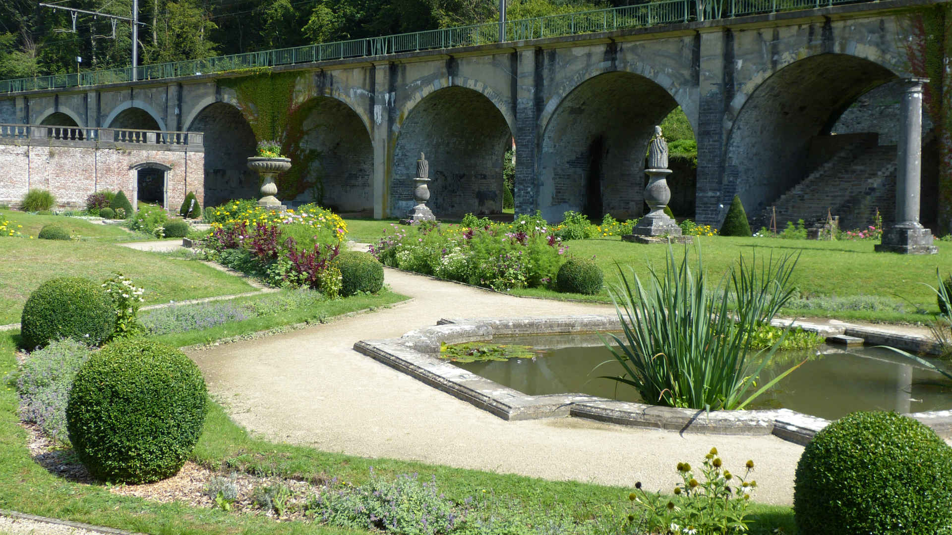 The Abbot's Garden - Villers Abbey